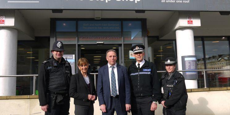 Bath police station