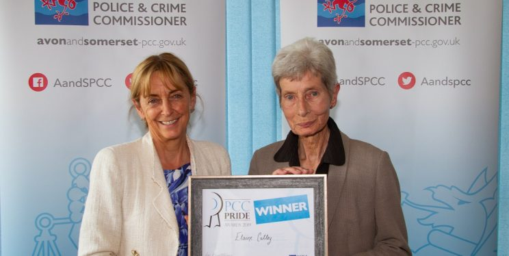 PCC Sue Mountstevens and Appropriate Adult Elaine Culley