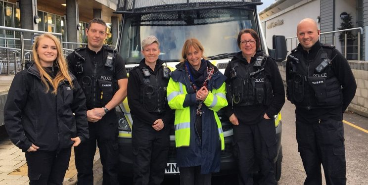 PCC Sue Mountstevens and Op Remedy team