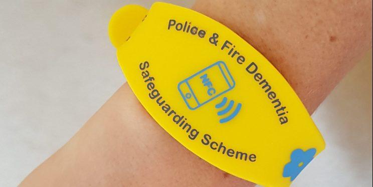 Dementia Safeguarding Wristband