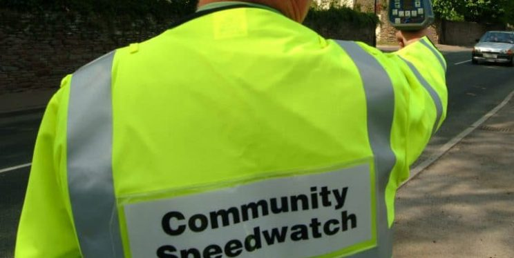 Community speedwatch member