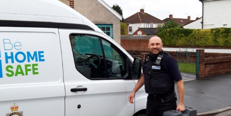 Be Home Safe Van
