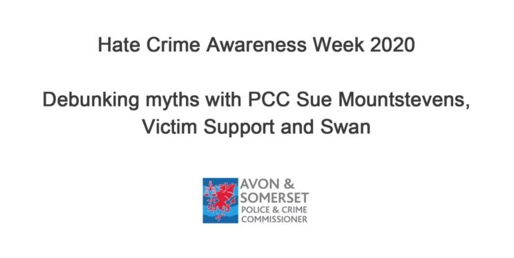 Debunking Hate Crime Myths with PCC Sue Mountstevens