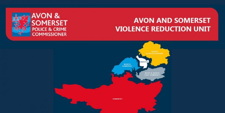 Avon and Somerset VRU Map