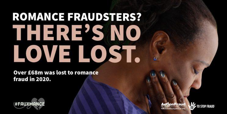 Romance fraud image