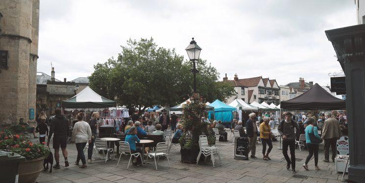 Street Market in Somerset